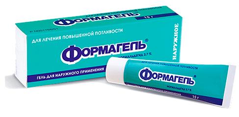 Формагель - лекарство от потливости