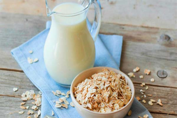 Овсянка и молоко