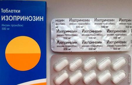 Как принимать Изопринозин при лечении ВПЧ