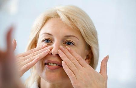 Действие ретиноевой мази на морщины